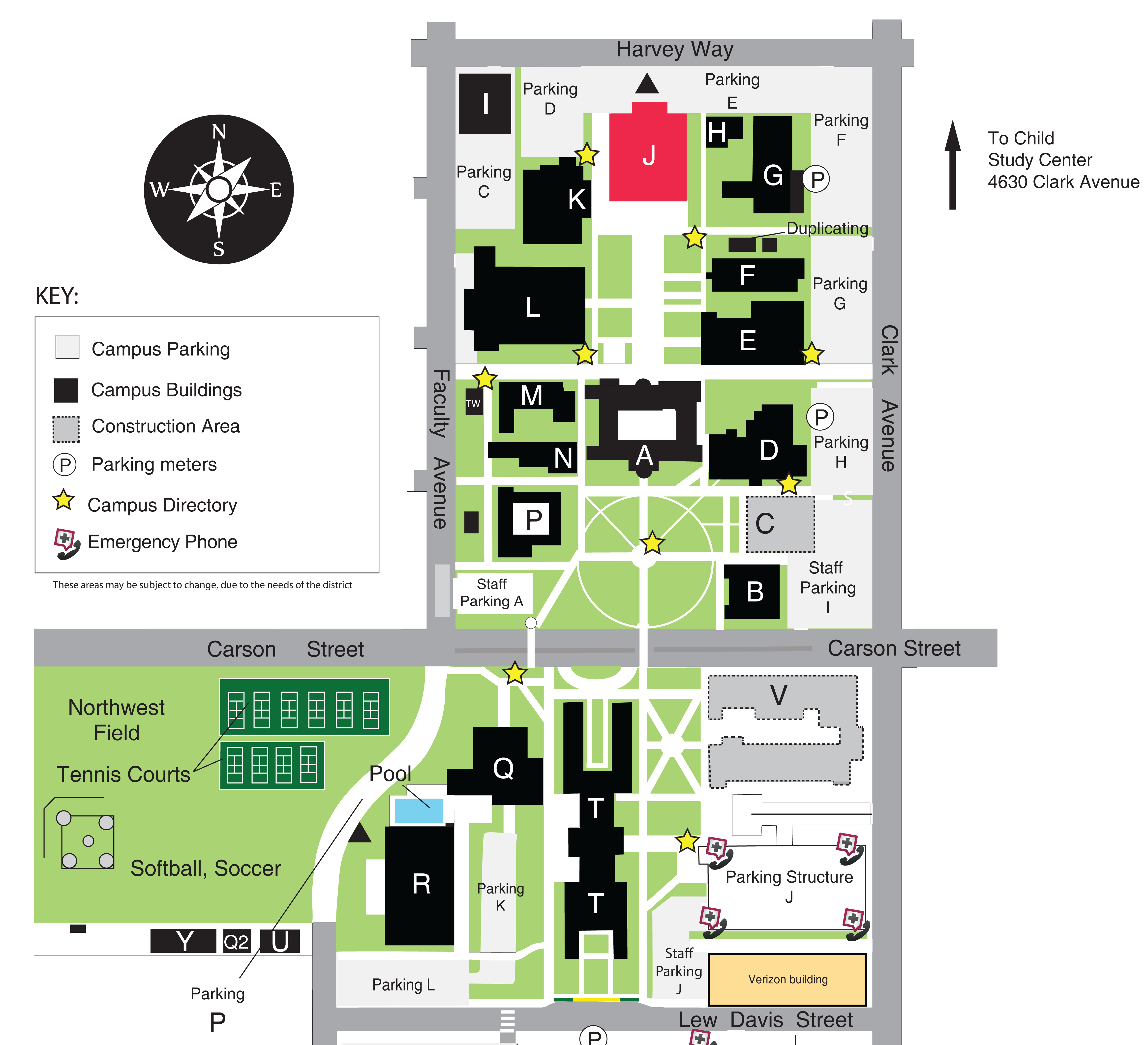 Best Arts Lac Campus Map 2015 Best Arts Conference
