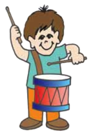 cartoon drummer boy