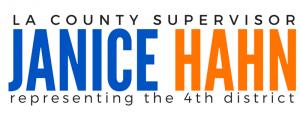Janice Hahn logo